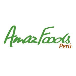 AmazFoods Logo. Gastronomía. PeruDesignnet