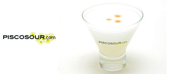 Logo Piscosour. Perudesignnet