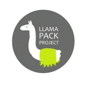 Llamapak Logo. Turismo Perudesignnet