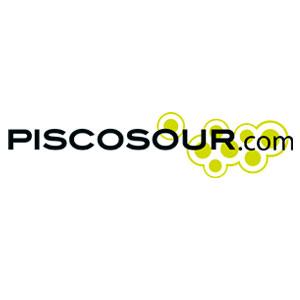 Piscosour Logo. Gastronomía. PeruDesignnet