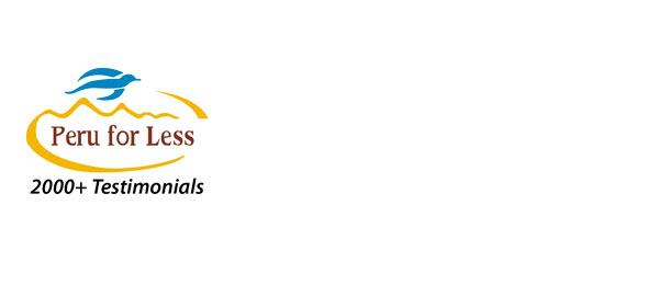 Logo PeruForLess. Perudesignnet